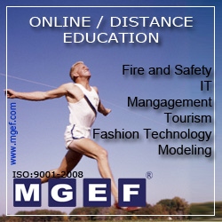 MGEF Online / Distance Education Fire and Safety, IT, Management, Fashion Technology, Modeling Courses